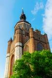 Igreja do ` s de St Mary em Stralsund, Alemanha imagens de stock