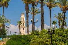 Igreja do ` s de St Peter, Jaffa velho no telefone Aviv Yaffo, Israel fotos de stock royalty free