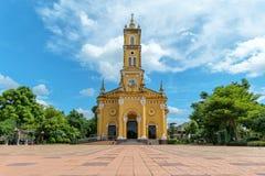 A igreja do ` s de StJoseph em Ayutthaya, Tailândia, foi construída durante o r Foto de Stock Royalty Free