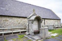 Igreja do ` s do St Tudno, Llandudno Imagem de Stock