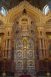 A igreja do salvador no sangue derramado Imagens de Stock Royalty Free