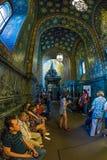 Igreja do salvador no sangue derramado interior Imagens de Stock