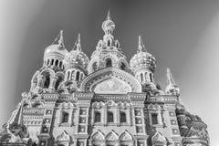 Igreja do salvador no sangue derramado, St Petersburg, Rússia Fotografia de Stock Royalty Free