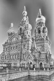 Igreja do salvador no sangue derramado, St Petersburg, Rússia Foto de Stock Royalty Free