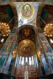 Igreja do salvador no sangue, St Petersburg, Rússia Imagem de Stock