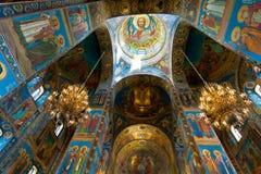 Igreja do salvador no sangue, St Petersburg, Rússia Imagens de Stock Royalty Free