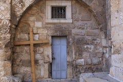 A igreja do santamente enterra, Jerusalém Imagem de Stock