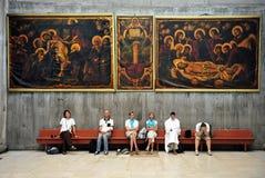 Igreja do Sepulcher santamente no Jerusalem Israel Fotografia de Stock Royalty Free