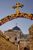 Igreja do Sepulchre santamente Foto de Stock