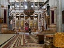 Igreja do sepulcro santamente Foto de Stock Royalty Free