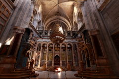 Igreja do sepulcro santamente Foto de Stock