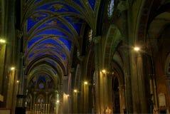 Igreja do sopra Minerva de Santa Maria (Roma) Fotografia de Stock