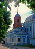 A igreja do Sretens imagens de stock royalty free