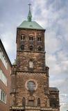 Igreja do St Adalbert, Aix-la-Chapelle, Alemanha Fotografia de Stock Royalty Free