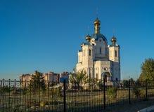 Igreja do St Alexander Nevsky Imagem de Stock