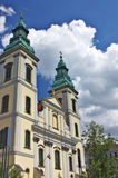 Igreja do St. Anna na praga, Budapest Fotos de Stock