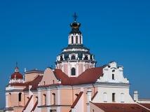 Igreja do St Casimiro em Vilnius Lithuania Imagem de Stock Royalty Free