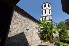 Igreja do St Constantim e do St Elena do período de renascimento búlgaro na cidade velha de Plovdiv fotografia de stock
