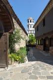 Igreja do St Constantim e do St Elena do período de renascimento búlgaro na cidade velha de Plovdiv fotografia de stock royalty free