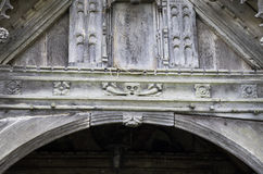Igreja do St Dyfnog, Llanrhaeadr, Gales Foto de Stock Royalty Free