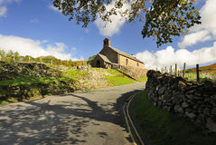 Igreja do St James, Buttermere, Cumbria imagens de stock royalty free