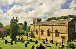 Igreja do St James, vila de Clapham, Yorkshire Imagem de Stock
