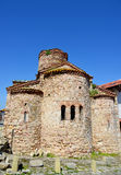 Igreja do St. John The Baptist em Nesebar, Bulgária Imagem de Stock