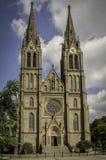 Igreja do St Ludmila Imagens de Stock