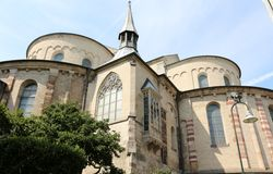 Igreja do St. Maria im Kapitol, água de Colônia, Alemanha Imagem de Stock
