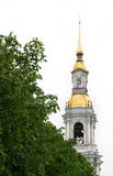 Igreja do St. Nicolas em St Petersburg, Rússia Imagem de Stock