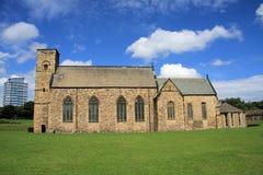 Igreja do St Peter & bloco de torre Foto de Stock