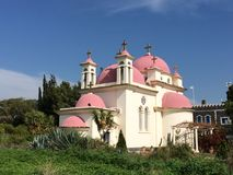 Igreja do St Peter galilee Imagem de Stock Royalty Free