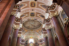 Igreja do St Stanislaus (Bishop) - Poznan, Poland fotografia de stock