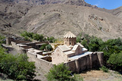 Igreja do St. Stephanos em Irã perto de Jolfa. Fotos de Stock