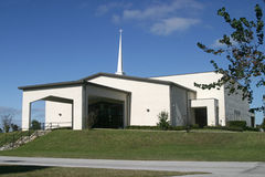 Igreja do Steeple Imagens de Stock Royalty Free