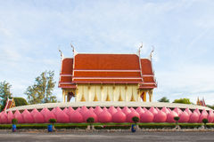 Igreja do templo tailandês Fotografia de Stock Royalty Free