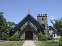 Igreja do tijolo imagem de stock