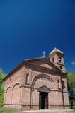 Igreja do tijolo foto de stock