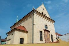 Igreja do Virgin Mary Angelic em Praga imagens de stock