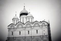 Igreja dos arcanjos Moscovo Kremlin Local do património mundial do Unesco Imagem de Stock Royalty Free