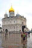 Igreja dos arcanjos no Kremlin de Moscou Local do património mundial do Unesco Fotos de Stock