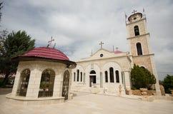 Igreja dos campos dos pastores Imagens de Stock