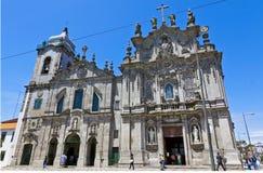 Igreja dos Carmelitas and Igreja do Carmo in Porto, Portugal Stock Image