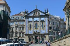 Igreja dos Congregados,波尔图,葡萄牙 库存照片