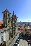 Igreja dos Grilos, Porto, Portugal Stock Photography