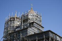 Igreja dos Hierarchs de Saint três Imagem de Stock Royalty Free