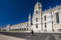 Igreja dos jeronimos in lisboa Stock Photo