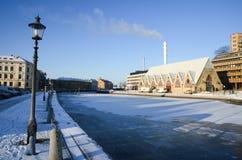 Igreja dos peixes de Gothenburg Imagem de Stock
