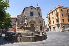 Igreja dos SS. Faustino e Giovita. Viterbo. Lazio. Itália. Fotografia de Stock