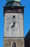Igreja doze horas e cinco minutos Foto de Stock Royalty Free